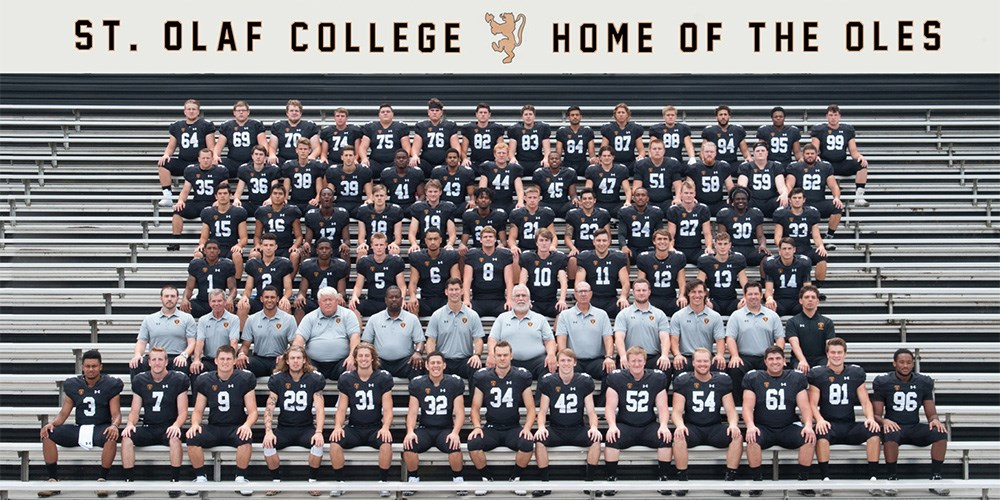 2018 Football Roster St Olaf College Athletics