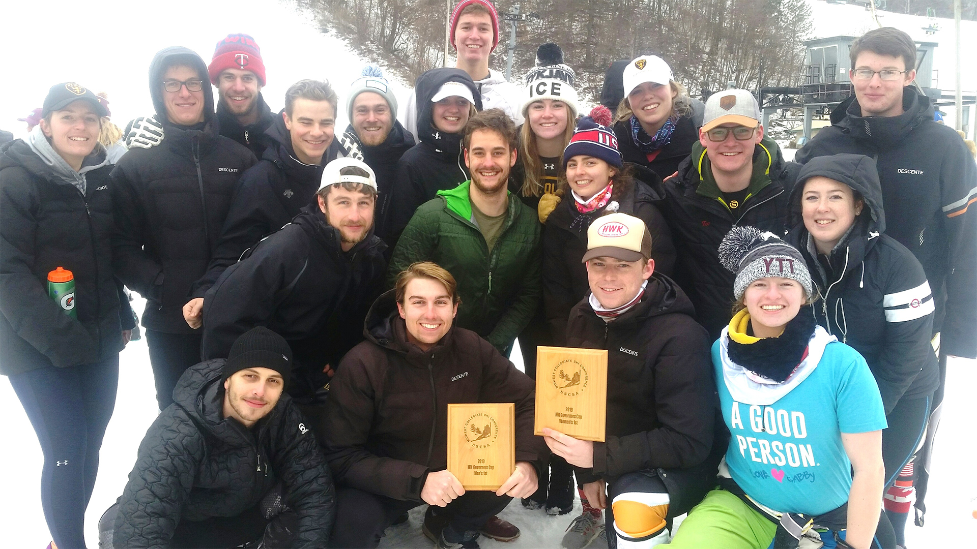 Alpine skiing teams win Minnesota Governors Cup - St  Olaf