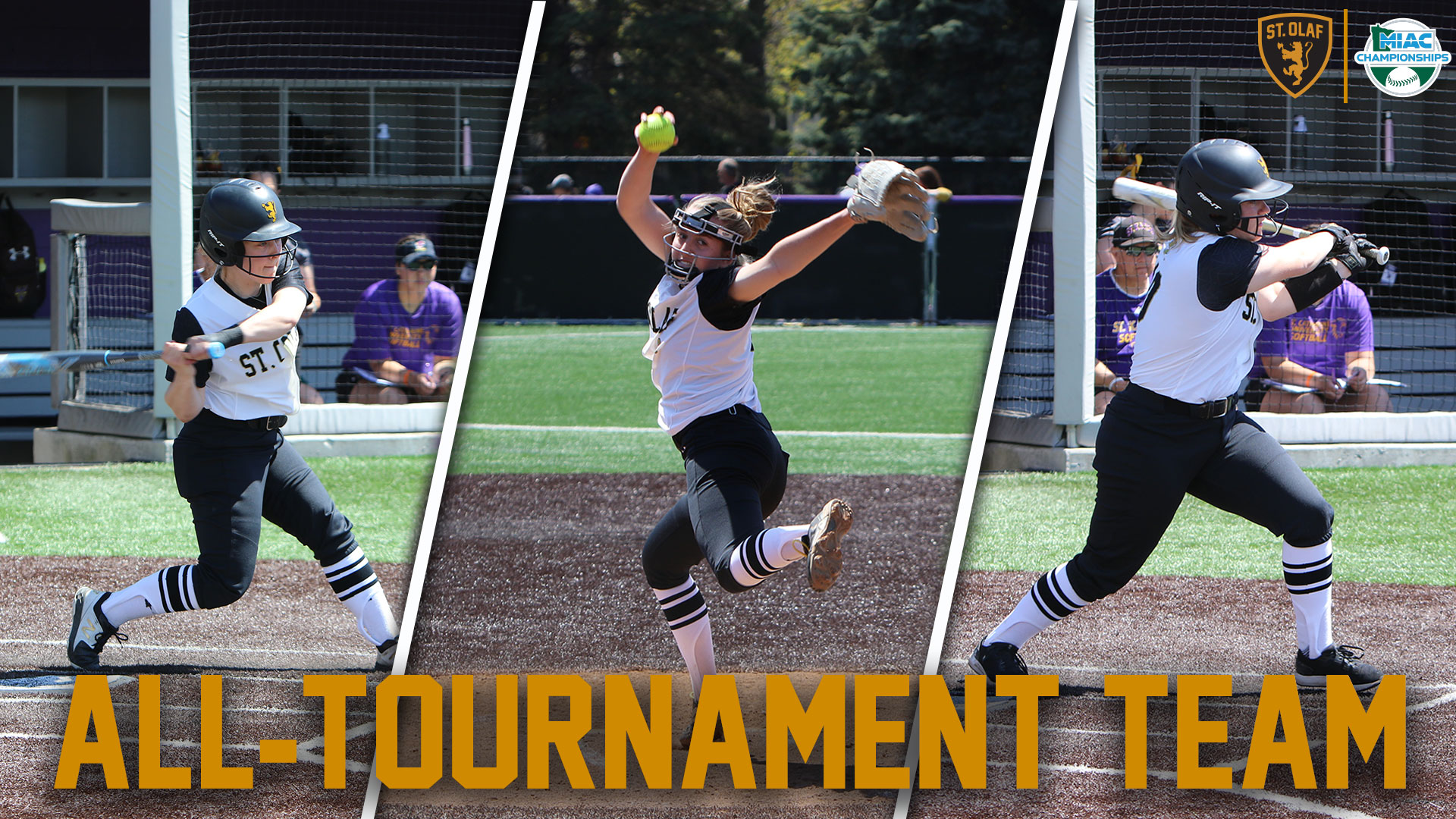 Carr, Graf, Matthies selected to 2019 MIAC All-Tournament Team - St